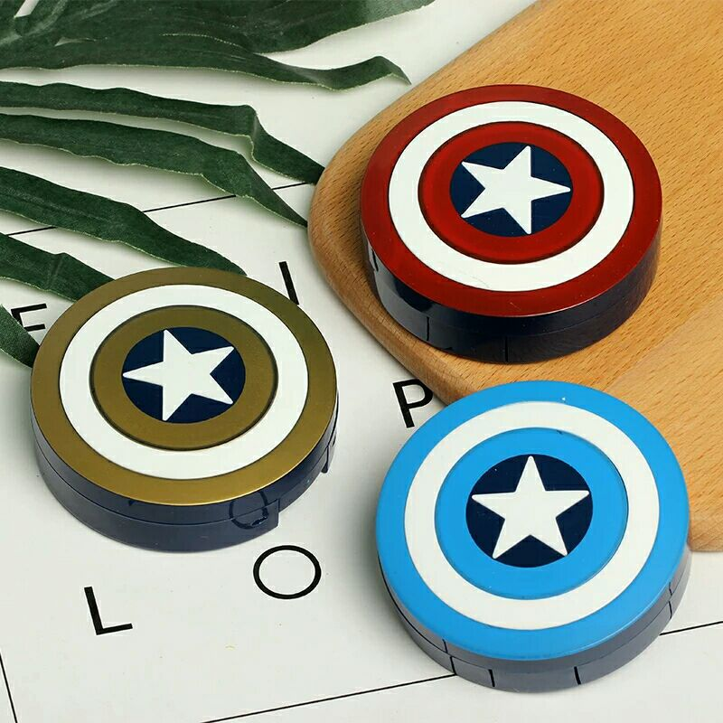 Hot Captain America Contact Lens Case With Mirror Contact Lenses Box Container For Lenses Birthday Gift For Girls and Boys 1