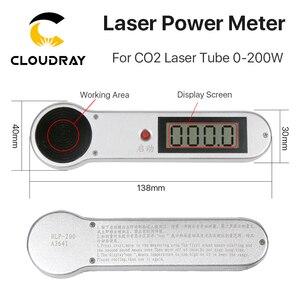 Image 2 - Cloudray כף יד CO2 לייזר צינור כוח מד 0 200W HLP 200 עבור לייזר חריטה ומכונת חיתוך