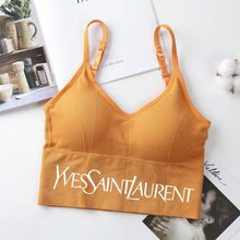 Fashion Tank Top for Women Underwear Female Bralette Sexy Crop tops Femme Camisole Push Up Tank Tops Girls Backless Body Slim