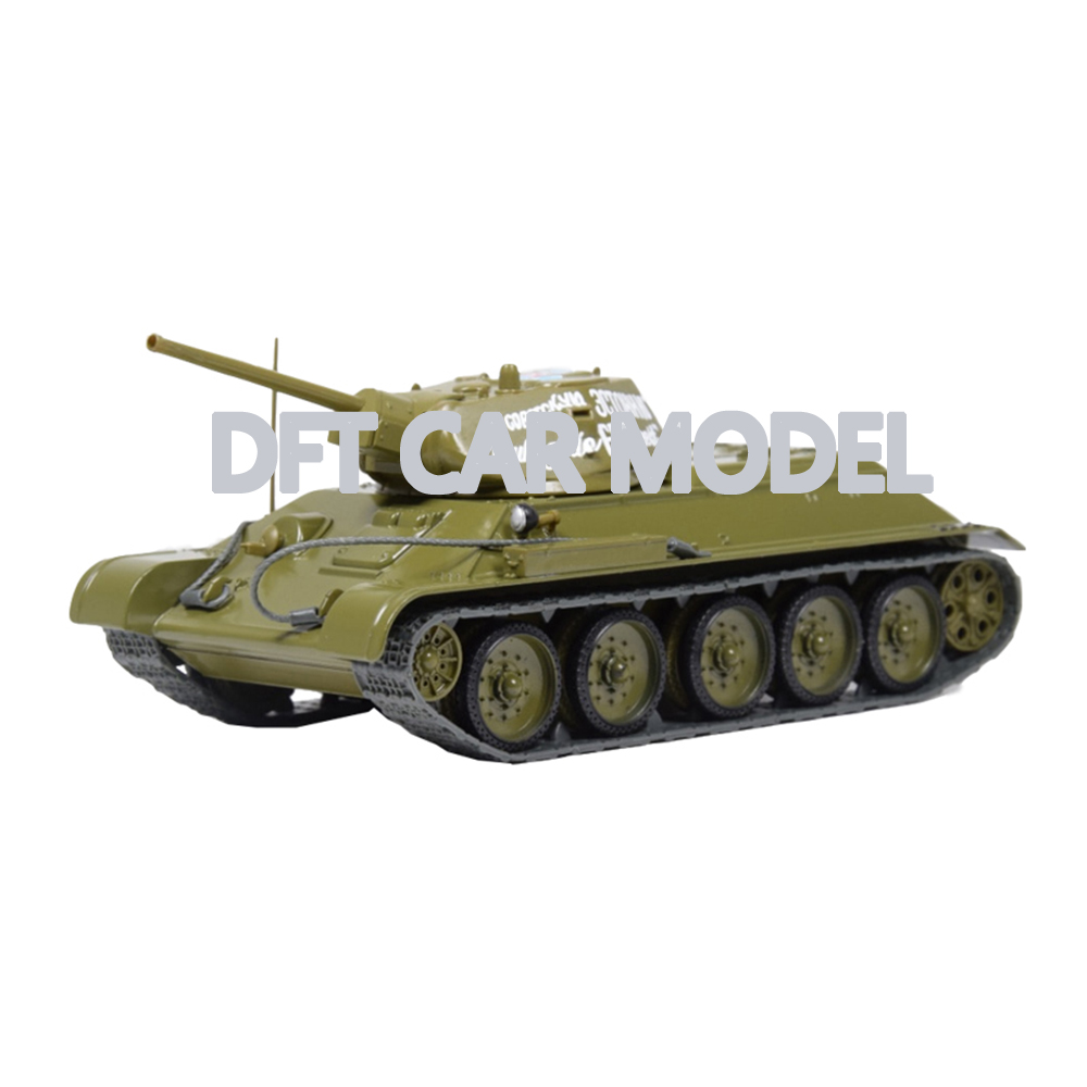 1:43 Scale Alloy Toy T-34-76(1942) Tank Model Of Children's Toy Tank Original Authorized Authentic Kids Toys