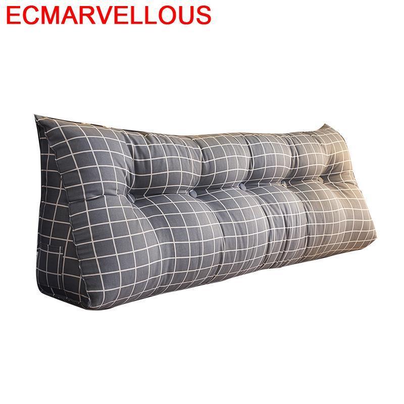 Divano Seat Poduszki Na Siedziska Deco Maison Cojin Coussin Decoratif Home Decor Big Pillow Cojine Back Headboard Cushion