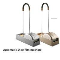 Totalmente automático sapato cobre máquina de escritório em casa sapatos de uma vez máquina de filme 600 pces sapatos cobrir adequado para todos os tipos de sapatos