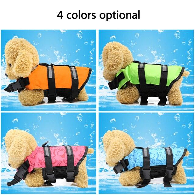 Adjustable Dog Life Jacket Vest - Rescue Swim Wear 2