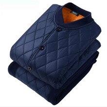Комплект термобелья мужские кальсоны для женщин мужской пуховик осень зима рубашка+ брюки наборы теплый толстый плюс бархат