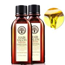 Óleo essencial do cabelo natural nutrir profundamente o reparo do cabelo danificado para extremidades rachadas soro orgânico do óleo de argan do tratamento do cabelo longo