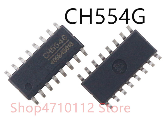 Free Shipping  10PCS/LOT NEW CH554G CH554 SOP-16