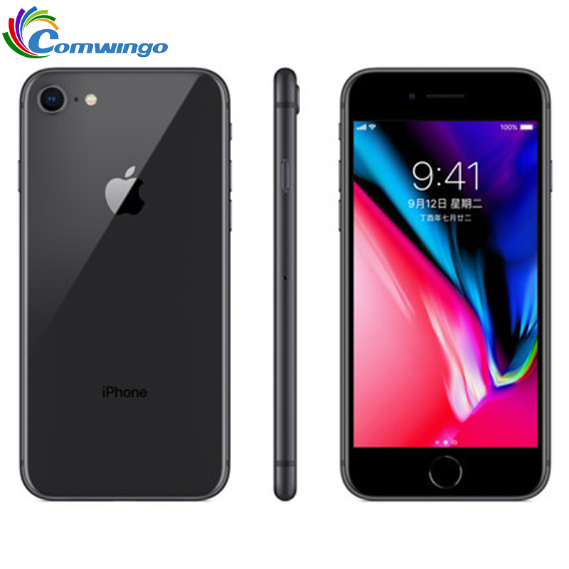 Original Unlocked Apple IPhone 8 1821mALTE Used Mobile Phone 2GB RAM 4.7