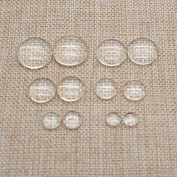 100 pçs olho de vidro chips boneca olho acessórios brinquedos de pelúcia snap animal scrapbooking fantoche bonecas artesanato olhos para brinquedo