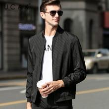UCAK Brand Striped Blouson Homme Casual Jackets Men Clothing Streetwear Clothes jacket Spring New Arrival Zipper Coat U8065