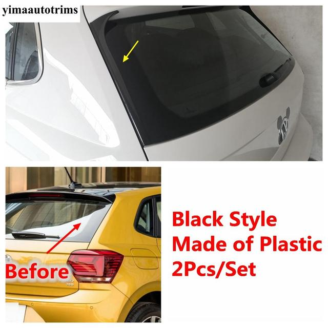 Фото боковая защитная полоса для заднего стекла защита от царапин