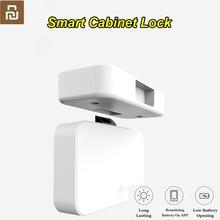Youpin YeeLocK inteligentne urządzenie do szafki do szuflady blokada Keyless Bluetooth APP odblokuj zabezpieczenie przed kradzieżą zabezpieczenie przed dziećmi inteligentny zamek