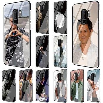 EWAU-funda de teléfono de vidrio templado para Galaxy, protector de móvil a...
