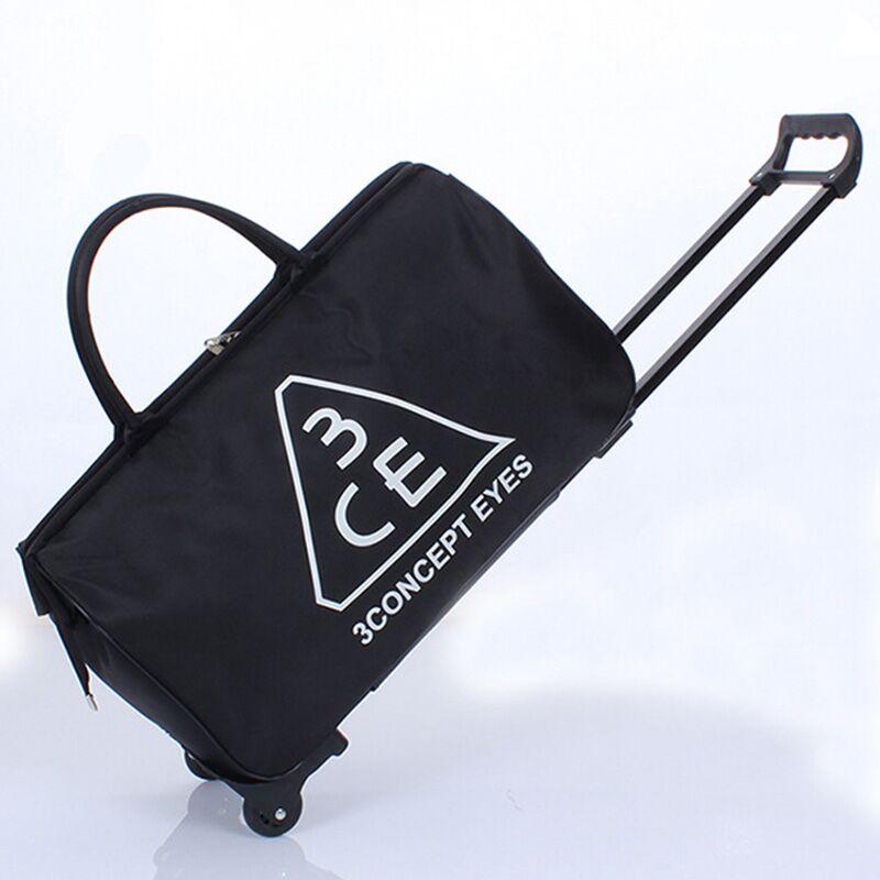 Women's Travel Bag Men Trolley Sport Bags Luggage Bag Fashion Suitcase On Wheels Lightweight Travel Duffel Pack Weekend Package