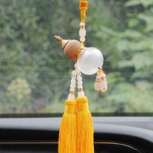 Kristal kabak parfüm kolye güvenlik araba kolye araba dekorasyon dikiz aynası asılı parfüm şişesi