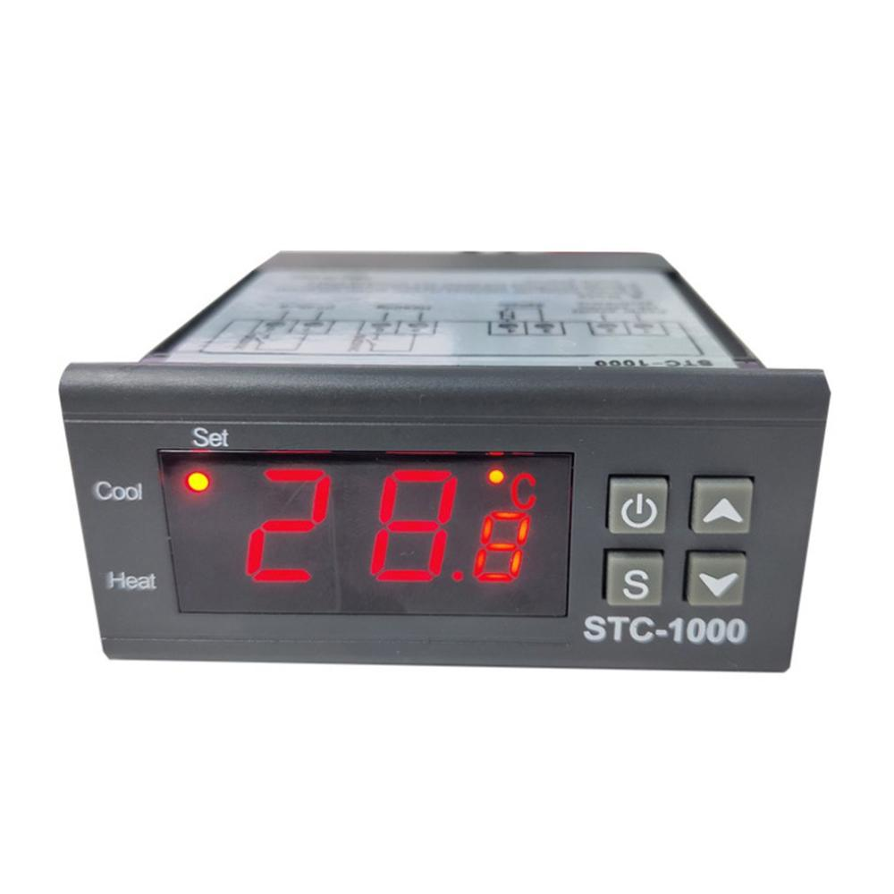 Stc-1000 220V Digital Refrigerator LED Display Thermostat Temperature Controller Switch Module Micro Board Module