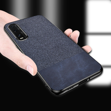 For OPPO Find X2 Lite Case Fabric Cloth Hard PC Back Cover For OPPO Find X2 Neo Find X2 Pro Case Shockproof Fundas cloth finger ring case for oppo find x2 neo find x2 lite phone case soft silicone frame back cover for find x2 pro shockproof