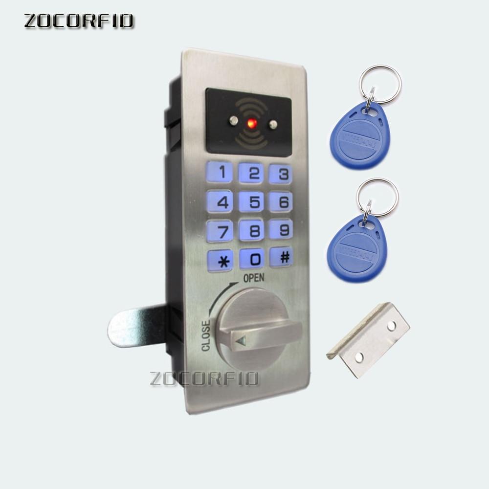 Stainless Steel Panel Digital Electronic Intelligent Password Keypad Number Cabinet Door Code Lock Fechadura Digital Smart Lock