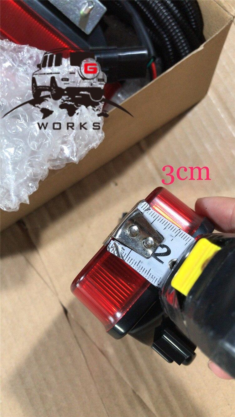 rear bumper LED W463 (21)