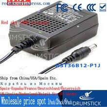 цена на Hot! MEAN WELL original GST36B12-P1J 12V 3A meanwell GST36B 12V 36W AC-DC High Reliability Industrial Adaptor