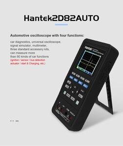 Image 4 - Handheld Oscilloscoop Hantek 2D82 Draagbare 4 In 1 Digitale Detector 80Mhz 2D82AUTO Signaal Bron Automotive Diagnostic 250msa/S