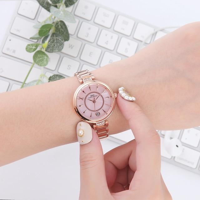 IBSO Simplicity Women Watches Luxury Female Clock Fashion Montre Femme 2020 Ladies Quartz Watch Женские часы