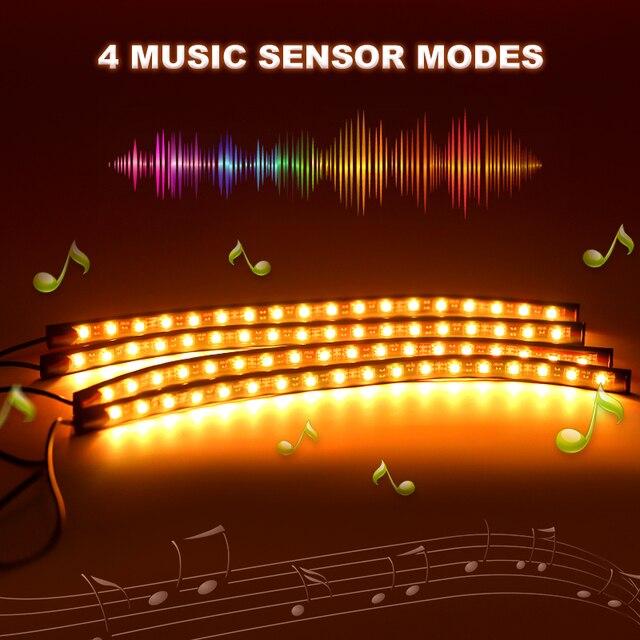 RGB LED Strip Lights Music Reactive 2