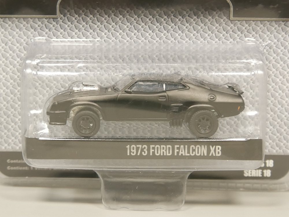 Greenlight 1:64  Black Bandit 1973 Ford Falcon XB Diecast Model Car