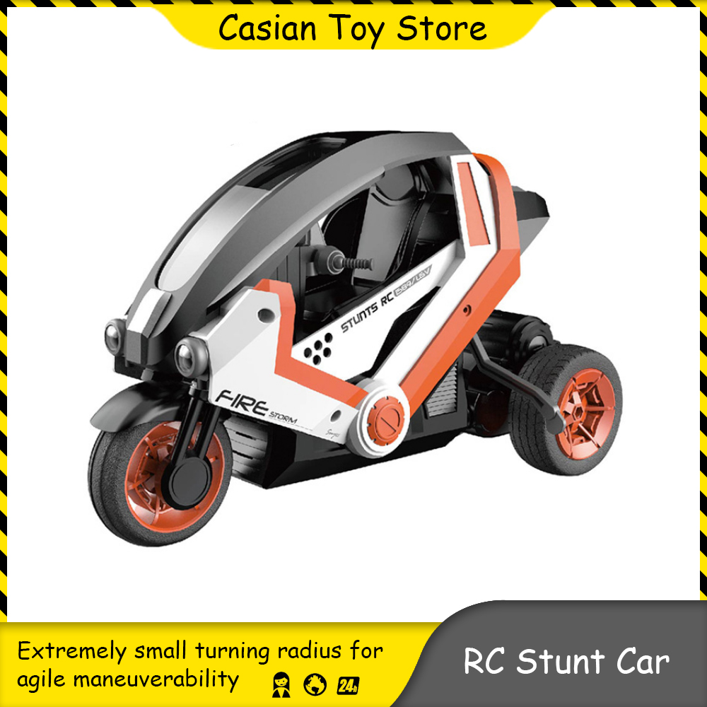 1:8 2.4G RC Stunt Motorcycle Stunt Electric Machine On Remote Control Car High-speed Racing Drift Vehicle Children's Toys Gift