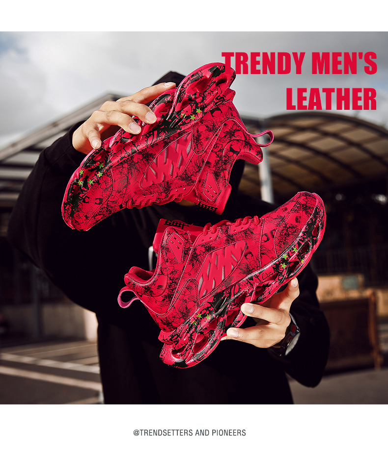 Hd2e3389c3f464825b7aa66dfdb673ed8k Fashion Men's Hip Hop Street Dance Shoes Graffiti High Top Chunky Sneakers Autumn Summer Casual Mesh Shoes Boys Zapatos Hombre