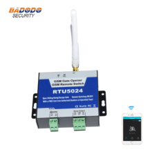 GSM 2G 3G ประตู GSM รีโมทคอนโทรล ON/OFF สวิทช์รีเลย์ RTU5024 สำหรับเลื่อน Swing โรงรถชัตเตอร์ประตูเปิดประตู