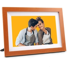 Digital Electronic Photo Album, Wifi Video Picture Player, Contact Screen Digital Photo Frame As a Gift US Plug