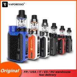 Original vaporesso swag kit cigarro eletrônico vape kit com caixa de swag mod nrg se tanque atomizador gt bobina núcleo não incluem bateria