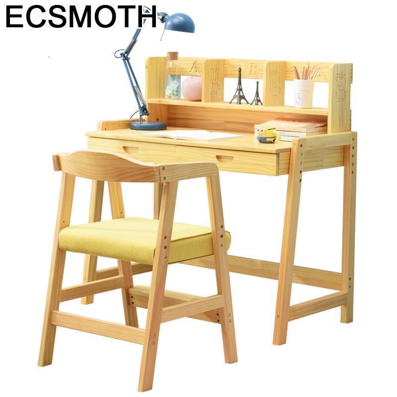 Scrivania De Estudio Tavolo Bambini Y Silla Mesinha Avec Chaise Baby Adjustable Kinder Mesa Infantil Enfant Study Table For Kids