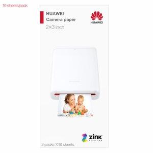Original Huawei Honor AR Portable Photo Pocket Zink Printer DIY Share Paper Bluetooth 4.1 20 per pack