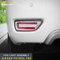 GELINSI for Nissan Patrol Y62 Car Styling Rear Fog Light Lamp LED Light Assembly Exterior Auto Replacement Parts