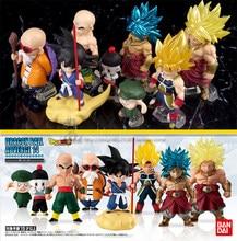 Original Bandai DBZ Adverge 14 Kakarotto bardana broly Kame Sennin PVC figura de acción modelo de juguete Anime Figurals Brinquedos