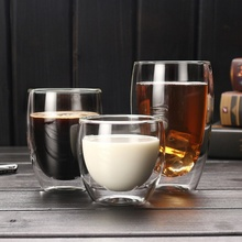 Whiskey Glass-Cup Coffee-Cup Beer Heat-Resistant Double-Glass Handmade 80/600ml