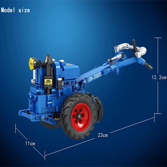 MOC City Walking Tractor 248pcs High-tech Creator Model Building Blocks Bricks educational Toys For boys Christmas Gifts juguete 2