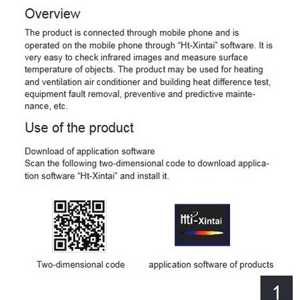 Обновленный HT-201 мини мобильный телефон внешний Инфракрасный Тепловизор камера ручной термометр Imager обнаружения для Android