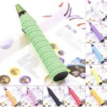 Anti Slip Racket Over Grip Roll Tennis Badminton Squash  Tape New Badminton Pu Racquet Sports Tennis Accessories