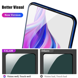 Image 2 - VALAM Tempered Glass Screen Protector For Huawei P smart Z 2019 Full Cover Glass For huawei P smart 2019 plus Z Protective Glass