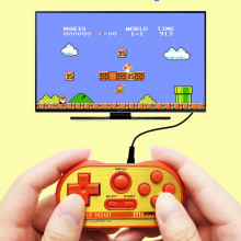 Mipad 90Sm TV 8 Bits Mini Handheld Video Retro Game Controller Console Players with 20 Classic NEC Games TV AV Output Family