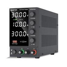 Wanptek Adjustable DC power supply 30V 10A LED Digital Lab Bench Power Source Stabilized Power Supply Voltage Regulator Switch