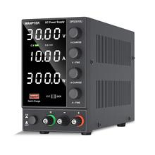 Wanptek regulowany zasilacz DC 30V 10A LED cyfrowy ławka laboratoryjna źródło zasilania stabilizowane zasilanie przełącznik regulacyjny napięcia tanie tanio CN (pochodzenie) NONE 0-30A 50hz 60hz kps3010df JEDNA 201-300 w regulated power supply dc power supply adjustable diy power supply