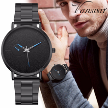 Hot Sale Fashion Men Stainless Steel Sport Watches Casual Lu