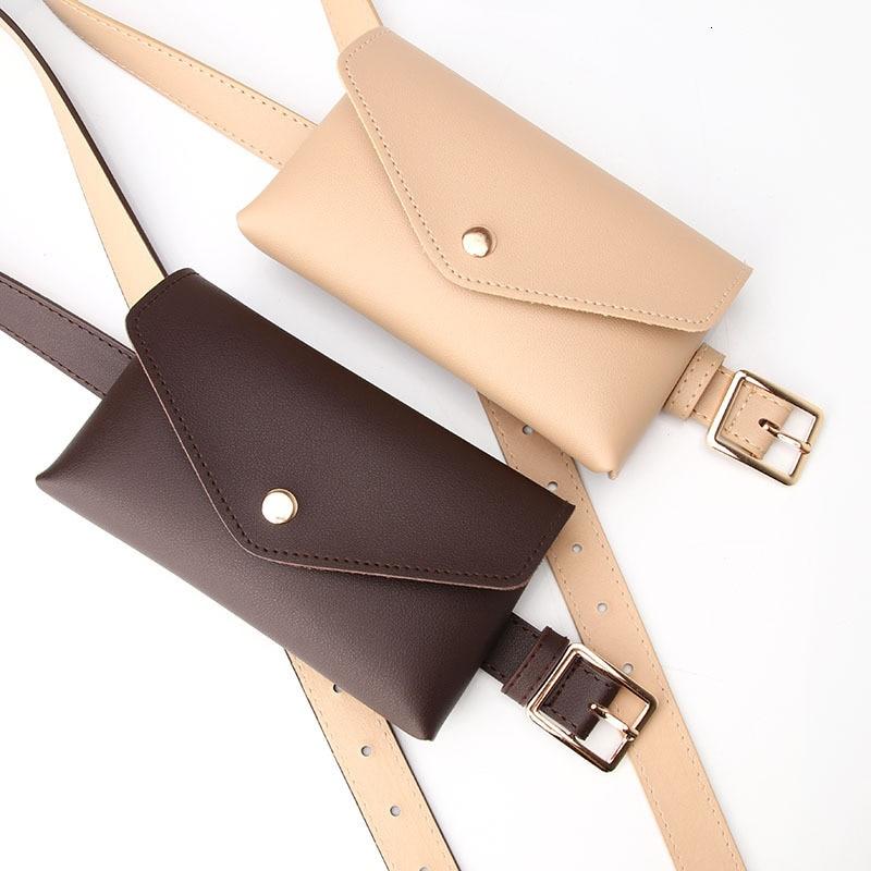 Waist Packs Women Leather PU Adjustable Belt Bag Waist Pack Wallet Phone Pouch Ladies Salesperson Work Bags EY*