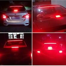 12v car led strip brake lights auto rear tail warning lighting