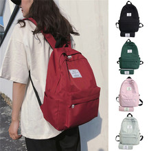 Fashion 2 Piece Set Student Waterproof Backpack Casual Large Capacity Travel Bag
