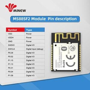 Image 5 - BQB CE FCC sertifikalı Nordice nRF52840 Ble 5.0 modülü 2.4G alıcı verici modülü sunuyor için mükemmel bir çözüm Bluetooth bağlantısı