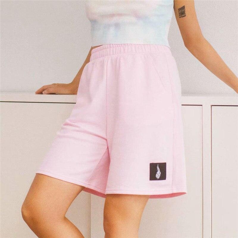 Sweet Women Soild Shorts 2020 Summer Fashion Ladies Casual Shorts Female Elegant Shorts Feminine Girls Chic Clothes
